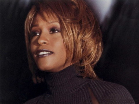 Ca sĩ Whitney Houston.