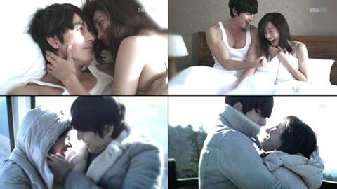 Những cảnh quay lãng mạn của Jung Woo Sung và Lee Ji Ah trong
