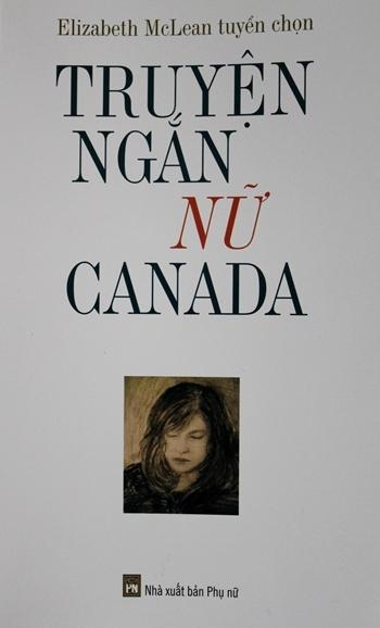 Bìa cuốn 'Truyện ngắn nữ Canada'.