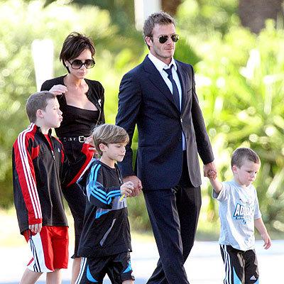 Gia đình David và Victoria Beckham sắp bổ sung thêm một bé gái.