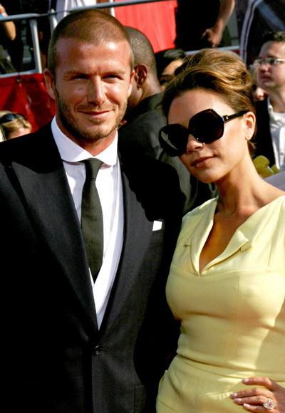 Đôi vợ chồng nổi tiếng thế giới - David và Victoria Beckham.