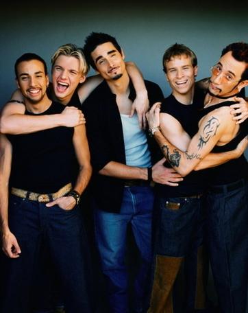 Nhóm nhạc Backstreet Boys.