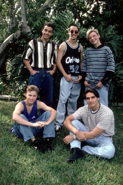 Backstreet Boys những ngày đầu mới thành lập.