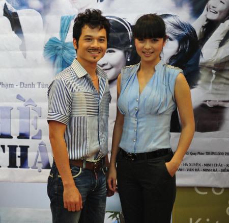 Thanh Tùng và Jenni đều có ấn tượng tốt về nhau.