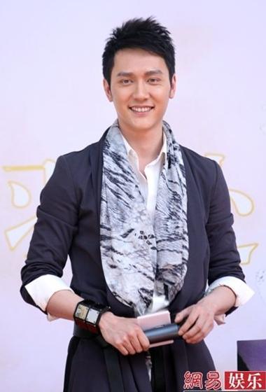 Phùng Thiệu Phong trong buổi công bố vai diễn Hạng Vũ hôm 19/4.