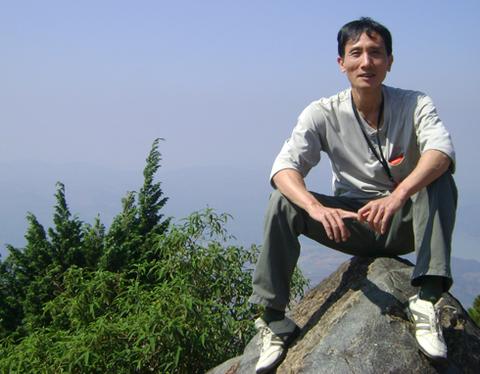 Nhà văn Đỗ Tiến Thụy.