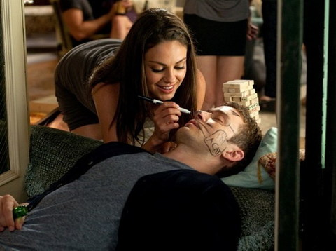 Mila Kunis và Justin Timberlake trong 'Friends with Benefits'. Ảnh: Sony.