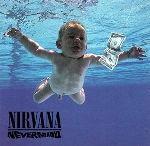 Bìa album Nevermind năm 1991.