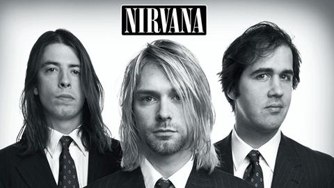 Ban nhạc huyền thoại Nirvana.