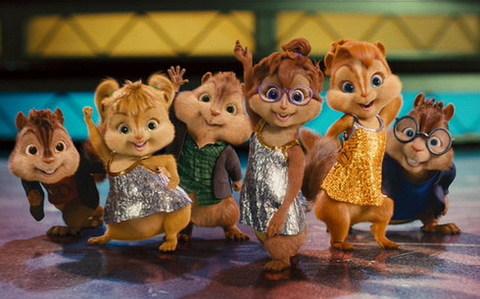 Những chú sóc chuột hát hay, nghịch ngợm sẽ trở lại màn ảnh rộng vào dịp Giáng sinh năm nay. Ảnh: Fox.