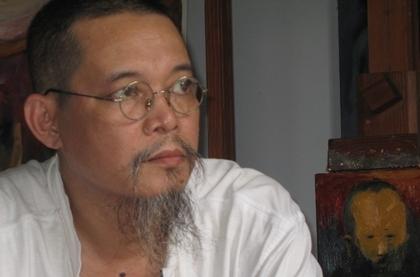 Nhà văn - họa sĩ Đỗ Phấn.