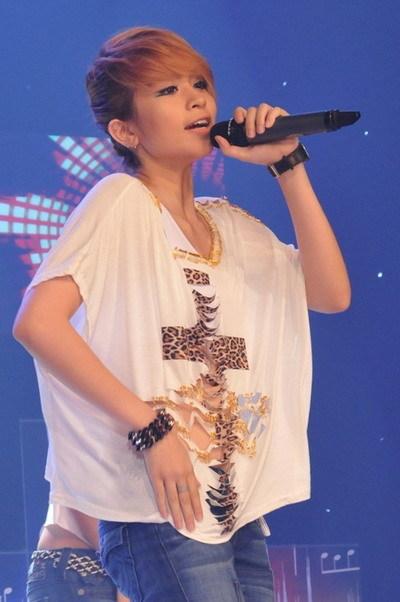 Thanh Trúc hiện là thí sinh có nhiều fan nhất trong 'Sáng bừng sức sống'. Ảnh: HOD.