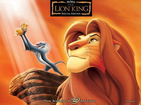'Vua sư tử' sẽ trở lại màn ảnh rộng trong tháng 9 với phiên bản 3D. Ảnh: Disney.