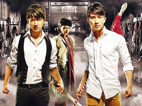 Từ Hy Viên vướng vào mối tình tay ba với Ngô Tôn và Han Geng trong 'Đại Võ Sinh'. Ảnh: Sina.