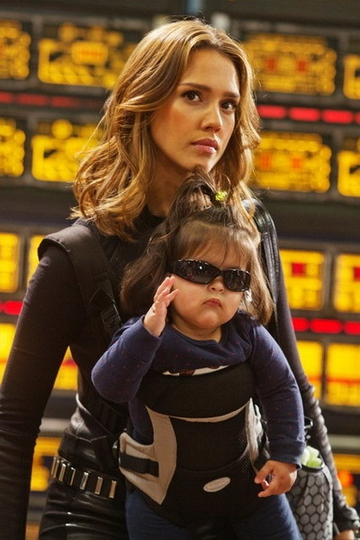 Jessica Alba xinh đẹp trong 'Spy Kids 4: All The Time In The World 3D'. Ảnh: Sony.