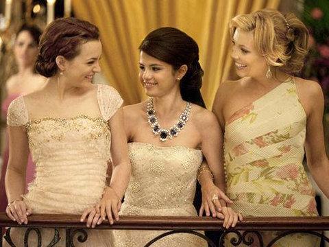 Bộ ba Leighton Meester, Selena Gomez và Katie Cassidy của 'Monte Carlo'. Ảnh: Fox.