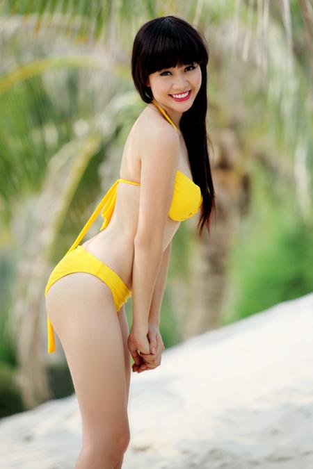 Thiên Hẳng (Văn Hoa Thu Hằng) - Á khôi Thời trang 2007, Top 20 Hoa hậu Hoàn vũ Việt Nam.