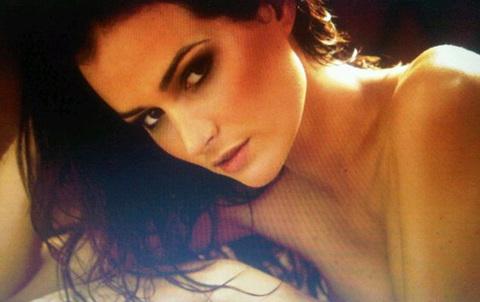 Một tấm ảnh hở hang của Hoa hậu Brazil.