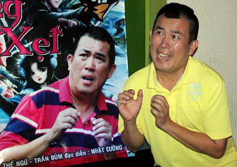 Diễn viên hài Nhật Cường. Ảnh: Thoại Hà.