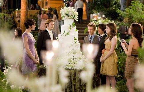 Bánh cưới của cặp tình nhân.