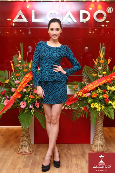 Hồng Nhung (Top 10 Hoa hậu Việt Nam 2008).