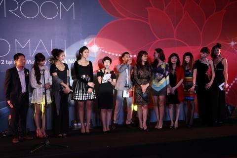 Chị Tô Thị Dung – Tổng giám đốc thương hiệu phát biểu tại buổi lễ.