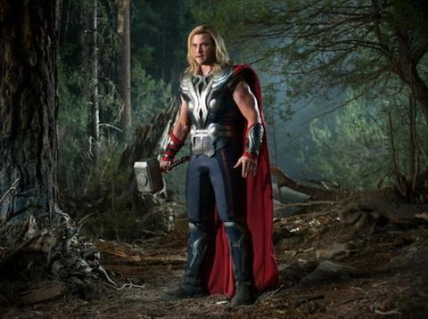 Một cảnh quay của Thor trong siêu bom tấn