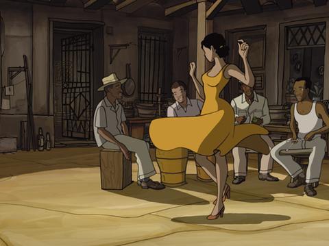 """Bộ phim hoạt hình """"Chico and Rita"""" được ví như bản tình ca lãng mạn."""