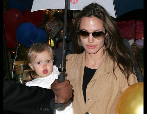 Angelina Jolie, Maddox and Shiloh Sighting in New York City (June 16, 2007).