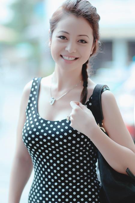 Người đẹp cho biết, cô cảm thấy rất vui và hồi hộp khi nhận được lời mời tham gia Bước nhảy Hoàn vũ sắp tới.