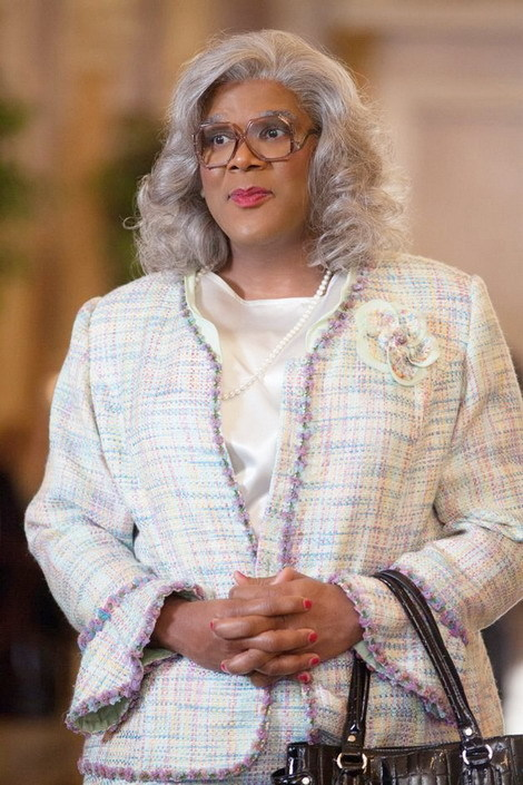 Tyler Perry giả gái trong phim