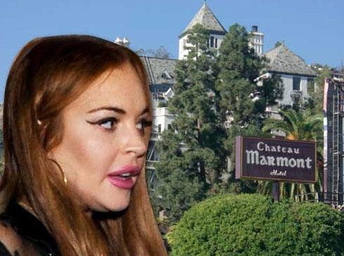 Lindsay Lohan bị khách sạn