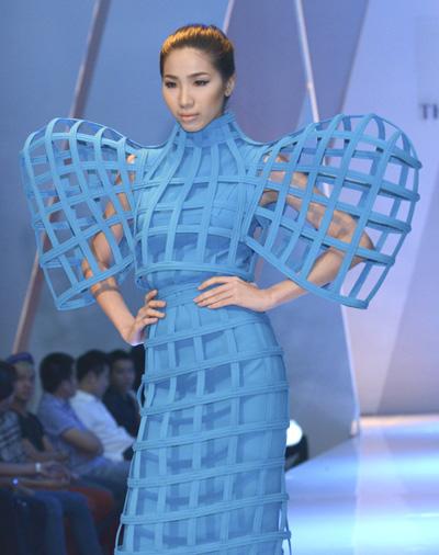 Người mẫu Huỳnh Nu.