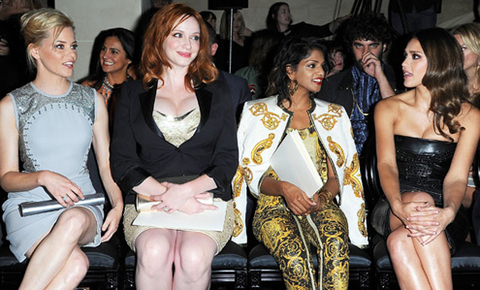 Elizabeth Banks, Christina Hendricks, M.I.A. and Jessica Alba