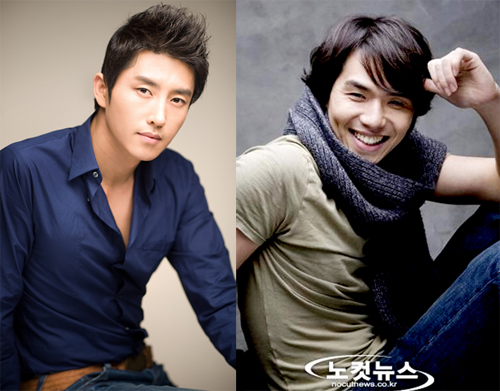 Kim Tae Hoon (phải) - em trai tài  tử Kim Tae Woo, và Hyun Woo Sung góp mặt trong phim.