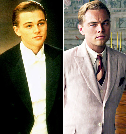 Leonardo DiCaprio  THEN: Titanic, 1997  NOW: The Great Gatsby, 2013  Read more: http://www.usmagazine.com/entertainment/pictures/90s-actors-hotter-then-or-now-201363/972#ixzz2Yovhv5C6 Follow us: @usweekly on Twitter | usweekly on Facebook