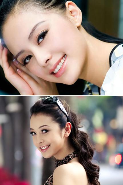 Chung Hân Đồng (ảnh trên) có lúc cười rất giống Jennifer Phạm.