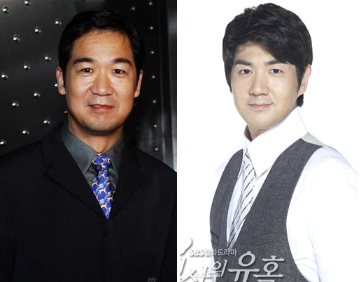 Trương Quốc Lập và tài tử Hàn  Han Sang Jin.
