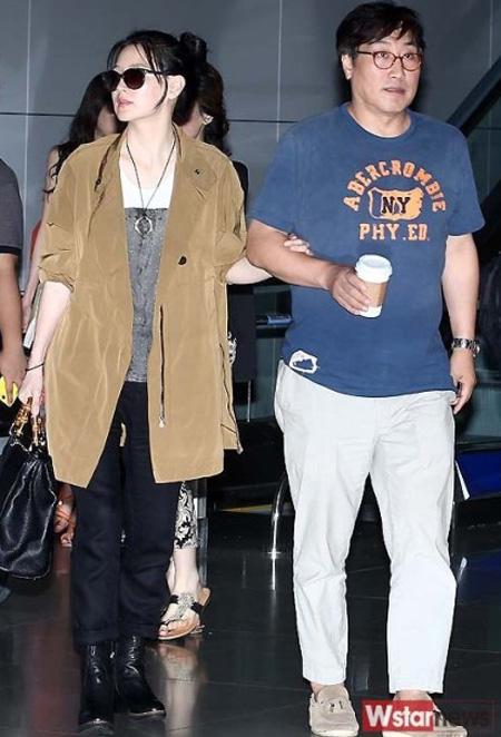 Vợ chồng nữ diễn viên Hàn Quốc Lee Young Ae