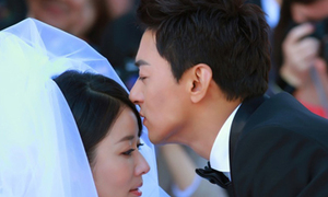 Lâm Tâm Như làm cô dâu xinh đẹp