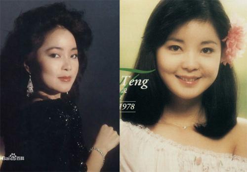 Danh ca châu Á Đặng Lệ Quân (1953-1995). Cô là nghệ sĩ Đài Loan có tầm ảnh hưởng lớn trong cộng đồng Hoa ngữ. Ca khúc của cô đến nay vẫn được rất nhiều người yêu thích. Đặng Lệ Quân có vẻ đẹp lộng lẫy cùng nụ cười rạng rỡ.