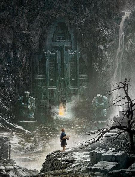 Poster phim The Hobbit: The Desolation of Smaug.