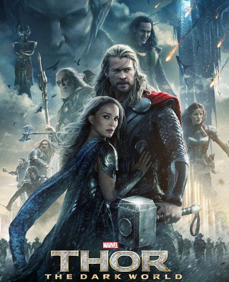 Poster phim phim Thor: The Dark World.