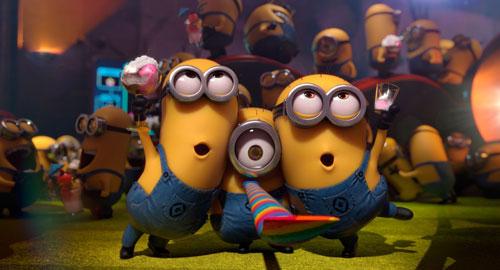 Khán giả sẽ phải chờ tới mùa hè năm 2015 để gặp lại các chú Minion dễ thương. Ảnh: Universal Pictures.