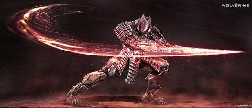 Tạo hình của Silver Samurai là một trong những điểm nhấn trong The Wolverine. Trong phim, người sói đã có dịp được thử sức mạnh của con rôbốt hùng mạnh này.