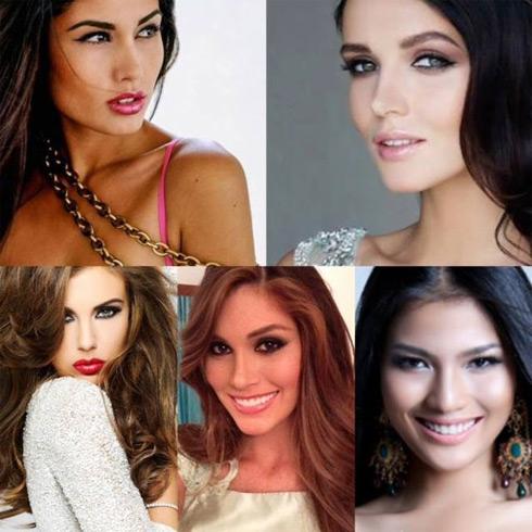 Đại diện Tây Ban Nha, Ukraine, Mỹ, Venezuela, Việt Nam được dự đoán làm nên chiến tích trong cuộc thi Hoa hậu Hoàn Vũ năm nay.