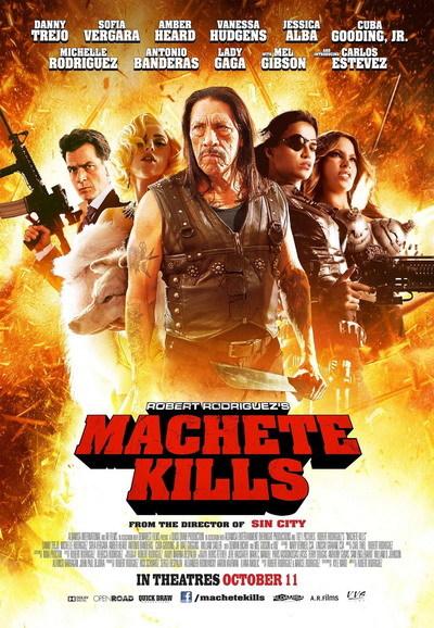 "Poster phim ""Machete Kills"". Ảnh: A Company."