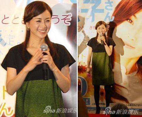 Noriko Sakai trong hoạt động hôm 20/10.