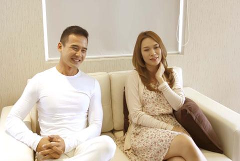 Với khả năng diễn xuất chuyên nghiệp của diễn viên Lương Thế Thành, anh đã làm tăng thêm sự tự tin cho Mỹ Tâm khi thể hiện những cảnh quay mang nhiều sự dằn vặt và đau khổ.