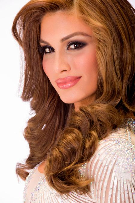 Miss Venezuela María Gabriela Isler.